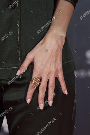 Elena Ballesteros, jewelry detail