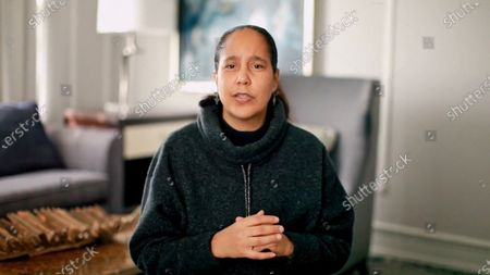 Stock Image of Honoree of the 2020 NYWIFT Muse Awards Gina Prince-Bythewood accepts the Nancy Malone Directing Award