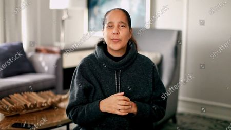 Stock Picture of Honoree of the 2020 NYWIFT Muse Awards Gina Prince-Bythewood accepts the Nancy Malone Directing Award