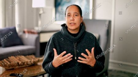 Stock Photo of Honoree of the 2020 NYWIFT Muse Awards Gina Prince-Bythewood accepts the Nancy Malone Directing Award