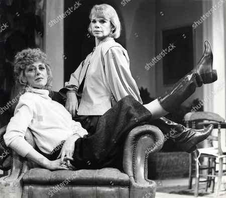 Editorial picture of Maria Aitken And Jill Bennett Who Are To Appear In Poor Little Rich Girls - New Granada Tv Series.