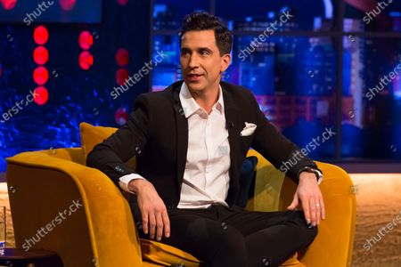 Editorial image of 'The Jonathan Ross Show' TV show, Series 16, Episode 10, London, UK - 19 Dec 2020