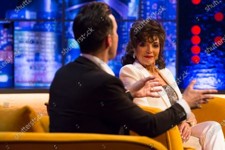 Editorial picture of 'The Jonathan Ross Show' TV show, Series 16, Episode 10, London, UK - 19 Dec 2020