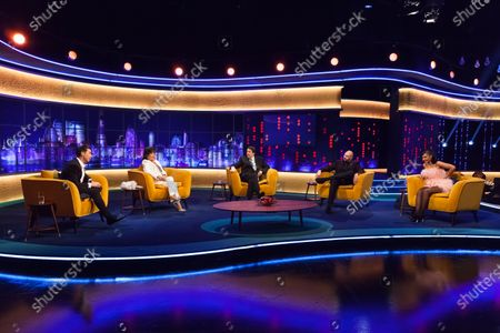 Editorial photo of 'The Jonathan Ross Show' TV show, Series 16, Episode 10, London, UK - 19 Dec 2020