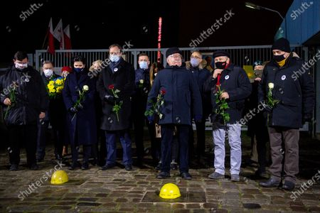 Editorial image of Anniversary of the strikes of December 1970 in Gdansk, Poland - 16 Dec 2020