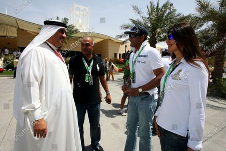 Editorial picture of Formula 1, Formula One World Championship, Bahrain International Circuit, Bahrain - 05 Apr 2008