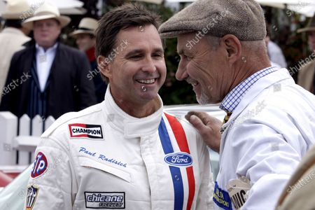 Stock Picture of Paul Radisich (NZL), left. Goodwood Revival, Goodwood, West Sussex, England, 16-18 September 2011.