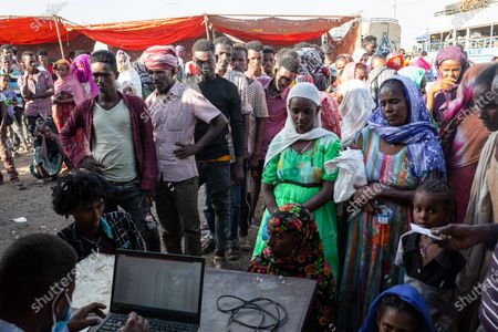 Editorial image of Soudan/E Xodus of Ethiopian refugees from the Tigre, Hamdayet - 17 Dec 2020