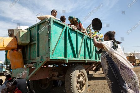 Editorial photo of Soudan/E Xodus of Ethiopian refugees from the Tigre, Hamdayet - 17 Dec 2020