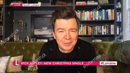 Editorial picture of 'Lorraine' TV Show, London, UK - 17 Dec 2020