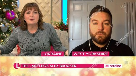 Lorraine Kelly, Alex Brooker