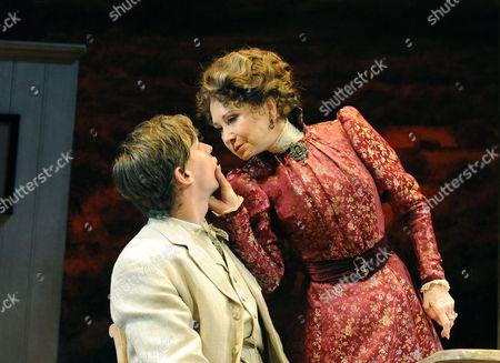 'Mrs Warren's Profession' - Max Bennett (Frank Gardner) Felicity Kendal (Mrs Warren)
