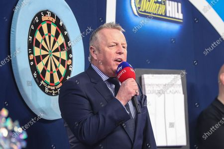 Editorial photo of William Hill World Darts Championship - 17 Dec 2020