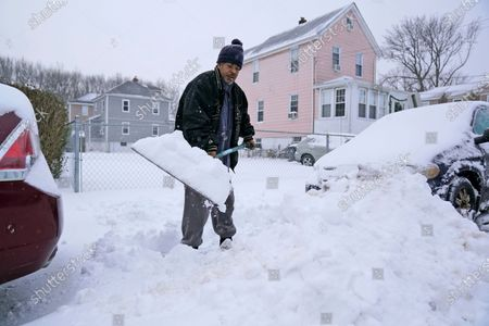 Editorial picture of Wintry Weather New Jersey, Englewood, United States - 17 Dec 2020