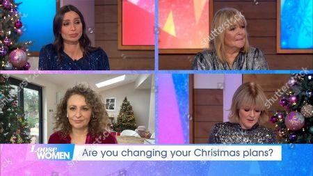 Christine Lampard, Linda Robson, Jane Moore, Nadia Sawalha
