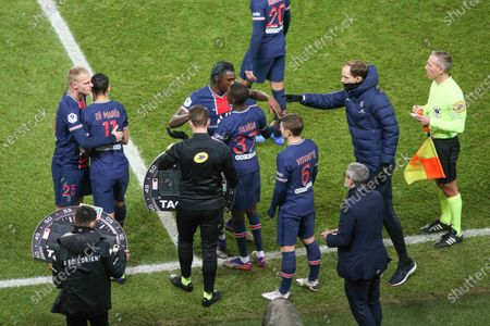 Editorial image of French L1 Football Match PSG - Lorient 2-0, Paris, France - 16 Dec 2020