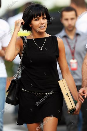 Raquel del Rosario (ESP) wife of Fernando Alonso (ESP) Ferrari. Formula One World Championship, Rd 12, Hungarian Grand Prix, Practice Day, Budapest, Hungary, Friday 30 July 2010.
