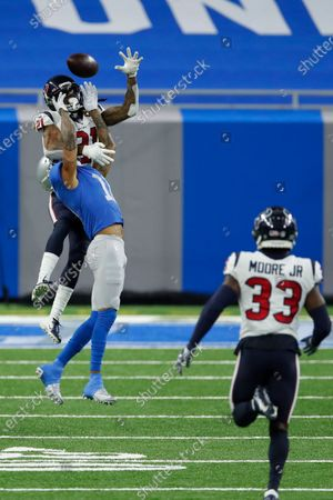Editorial image of Texans Lions Football, Detroit, United States - 26 Nov 2020