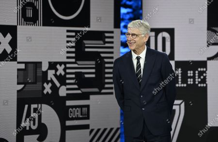 Former Arsenal manager Arsene Wenger during the Best FIFA Football Awards virtual TV show broadcast from the FIFA headquarters in Zurich, Switzerland, 17 December 2020.