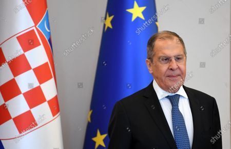 Minister of Foreign Affairs of the Russian Federation Sergey Lavrov.