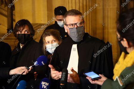 Editorial picture of Train Attack Trial, Paris, France - 17 Dec 2020