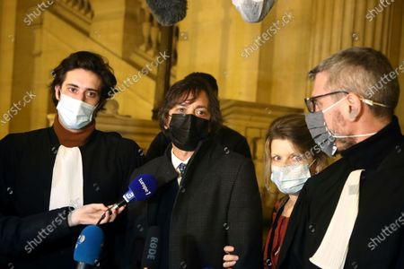 Editorial photo of Train Attack Trial, Paris, France - 17 Dec 2020