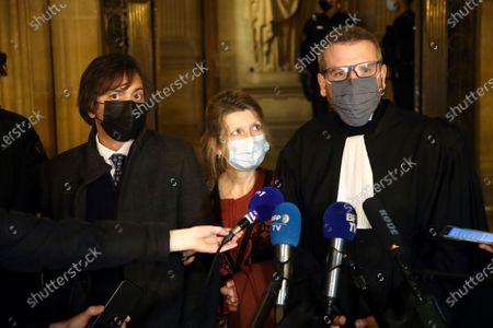 Editorial image of Train Attack Trial, Paris, France - 17 Dec 2020