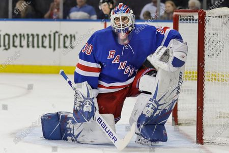 """The Flyers defeated the Rangers 5-3. Star goalie Henrik Lundqvist will sit out the upcoming NHL season because of a heart condition, announcing the news a little more than two months after joining the Washington Capitals. Lundqvist posted a written statement and a videotaped one on social media Thursday, Dec. 17, 2020, saying it was a """"pretty tough and emotional day."""" The 38-year-old from Sweden was bought out by the New York Rangers after 15 seasons and signed a $1.5 million, one-year deal with Washington in October"""