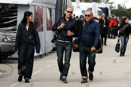 Michel Comte (SUI) Photographer (right) Formula One Testing, Day Two, Jerez, Spain, Thursday 11 February 2010.