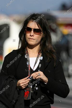 Marion Jolles (FRA) TF1 TV Presenter  Formula One Testing, Day Two, Barcelona, Spain, Friday 26 February 2010.