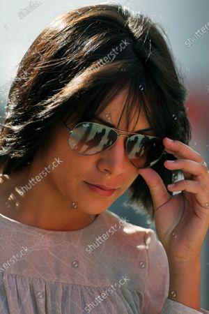 Raquel del Rosario (ESP) wife of Fernando Alonso (ESP) Ferrari. Formula One World Championship, Rd 11, Hungarian Grand Prix, Qualifying Day, Budapest, Hungary, Saturday 30 July 2011.