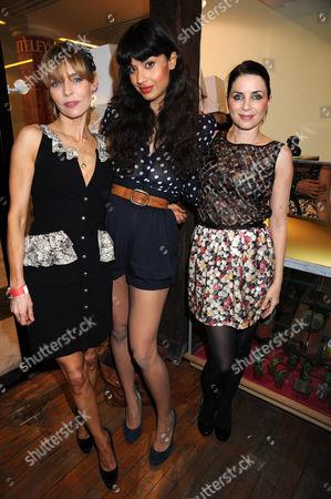 Jemima French, Jameela Jamil and Sadie Frost