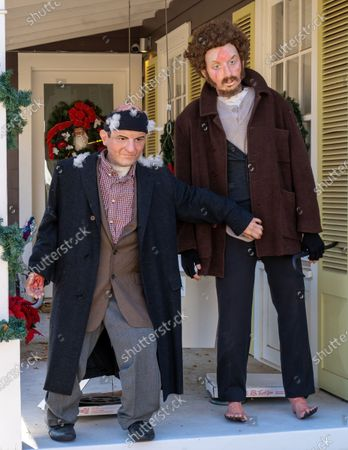 Editorial picture of 'Home Alone' Christmas decorations, Austin, Texas, USA - 17 Dec 2020