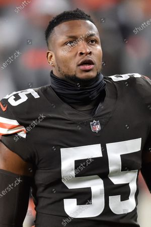Editorial picture of Ravens Browns Football, Cleveland, United States - 14 Dec 2020