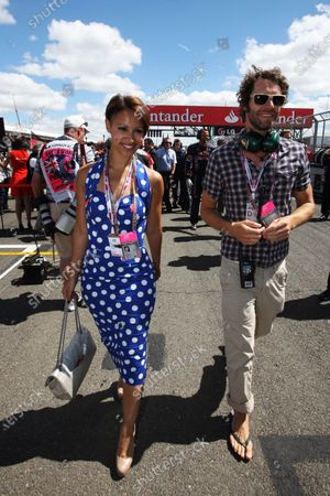 Howard Donald (GBR) Take That member on the grid with Jade Ewan (GBR) from Pop band Sugarbabes. Formula One World Championship, Rd 10, British Grand Prix, Race, Silverstone, England, Sunday 11 July 2010.