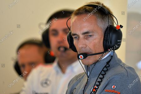 Martin Whitmarsh (GBR) McLaren Chief Executive Officer. Formula One World Championship, Rd18, United States Grand Prix, Qualifying, Austin, USA, Texas, Saturday 16 November 2013.