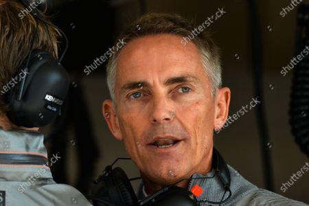 Martin Whitmarsh (GBR) McLaren Chief Executive Officer. Formula One World Championship, Rd18, United States Grand Prix, Practice, Austin, Texas, USA, Friday 15 November 2013.