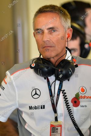 Martin Whitmarsh (GBR) McLaren Chief Executive Officer. Formula One World Championship, Rd17, Abu Dhabi Grand Prix, Practice, Yas Marina Circuit, Abu Dhabi, UAE, Friday 1 November 2013.