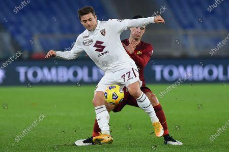 Karol Linetty of Turin, Gianluca Mancini of Rome