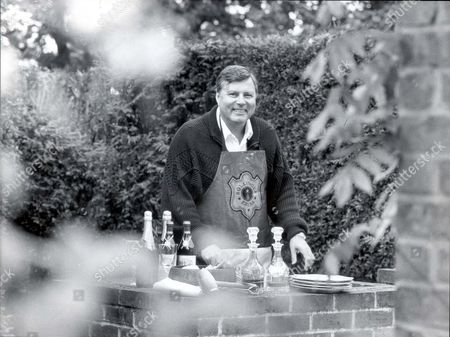 Peter Alliss - Golfer Golfing Tv. Presenter Peter Alliss: 'show A Man A Barbecue And He Fancies Himself As A Cook'..