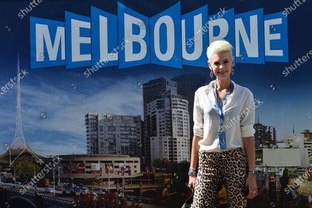 Kate Peck (AUS) Model. Formula One World Championship, Rd1, Australian Grand Prix, Qualifying, Albert Park, Melbourne, Australia, Saturday 15 March 2014.