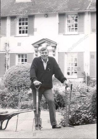 Peter Alliss - The Golfer Doing Some Gardening