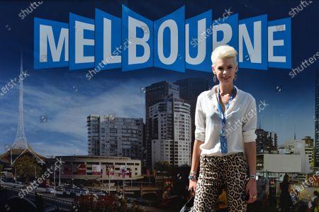 Kate Peck (AUS) Model. Formula One World Championship, Rd1, Australian Grand Prix, Qualifying, Albert Park, Melbourne, Australia, Saturday 15 March 2014. BEST IMAGE
