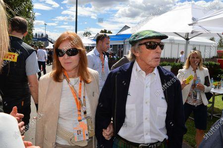 (L to R): Lady Helen Stewart (GBR) and Sir Jackie Stewart (GBR). Formula One World Championship, Rd1, Australian Grand Prix, Race, Albert Park, Melbourne, Australia, Sunday 16 March 2014.