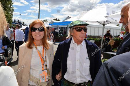 Sir Jackie Stewart (GBR) and Lady Helen Stewart (GBR). Formula One World Championship, Rd1, Australian Grand Prix, Race, Albert Park, Melbourne, Australia, Sunday 16 March 2014.
