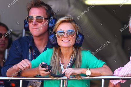 Geri Halliwell (GBR) Singer with Henry Beckwith. Formula One World Championship, Rd 6,  Monaco Grand Prix, Race, Monte-Carlo, Monaco, Sunday 29 May 2011.