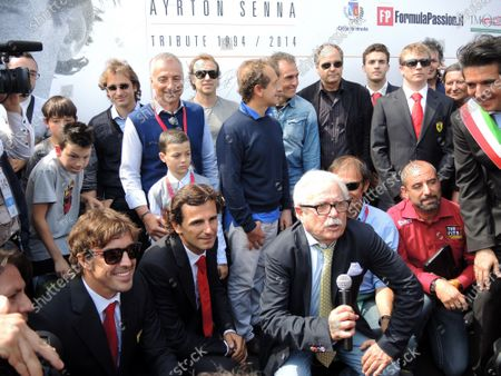 Editorial picture of Formula European Masters, Ayrton Senna and Roland Ratzenberger Tribute Weekend, Imola, Italy - 04 May 2014