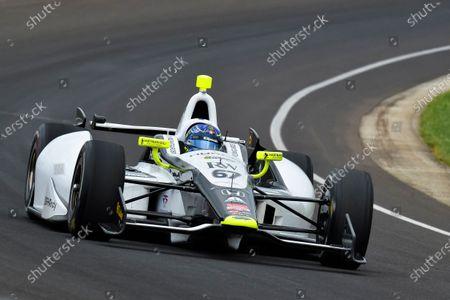 Josef Newgarden (USA) Sarah Fisher Hartman Racing. Verizon IndyCar Series, Rd4, Indianapolis 500, Indianapolis, USA, Practice and Qualifying, 11-19 May 2014.