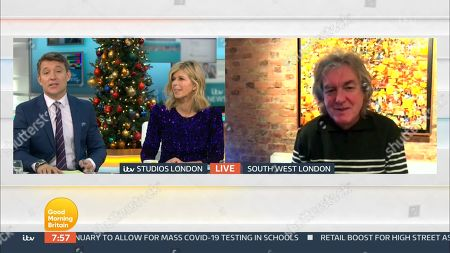 Editorial picture of 'Good Morning Britain' TV Show, London, UK - 18 Dec 2020