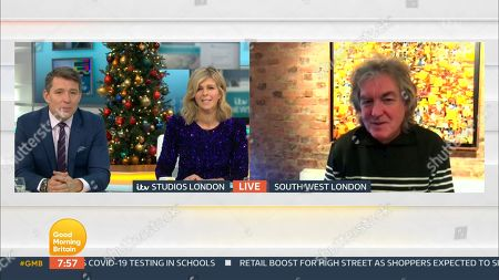 Editorial photo of 'Good Morning Britain' TV Show, London, UK - 18 Dec 2020